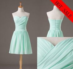 Chiffon Bridesmaid  Dress Custom made Bridesmaid Dress by Bestprom, $60.00