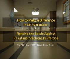 This webinar will look at the role of infection control in clinical practice and who's responsibility is it, creating infection control programmes and how we can carry out surveillance within our clinics. The webinar will review cleaning and disinfection procedures, hospital acquired infections and how to deal with cases of resistant infections within the clinic. Thu 30th July, 2015 / Time: 1pm - 2pm. Register now!