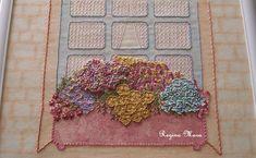 English Country Garden Quilt - block 8 by Regina Mara