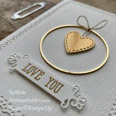 Valentine Love Cards, Valentines, Global Design, Brushed Metal, Gold Hoops, Embossing Folder, Paper Design, Note Cards, Wedding Cards