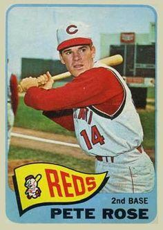 pete rose baseball cards | 1965 O-Pee-Chee Pete Rose #207 Baseball Card Value Price Guide