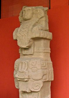 El Cargador, an Olmec-style stela from the Preclassic era.