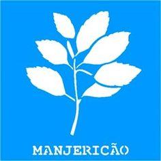Stencil Tempero Manjericão 14x14 - OPA