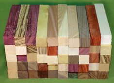 High quality turning blanks specifically designed for wood turners. Pen Turning, Bowl Turning, Deer Recipes, Wood Supply, Pen Blanks, Will Turner, Made In America, Wood Crafts, More Fun