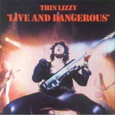 Thin Lizzy - Live And Dangerous 180g Vinyl 2LP
