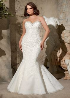 Dress Style 3174 From The Julietta Plus Size Collection By Mori Lee