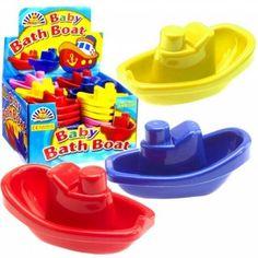 Plastic Bath Boat Toy