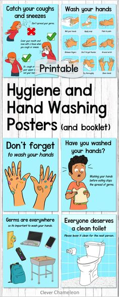 This is a set of six posters including the hand washing sequence. Also included is a student booklet with crossword puzzle. Special Education Activities, Primary Education, School Resources, Classroom Resources, Elementary Education, Classroom Ideas, Fifth Grade, Second Grade, Hand Washing Poster