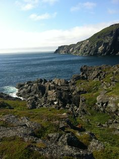Just one of the many gorgeous, rocky shores in St. Anthony Newfoundland, Canada