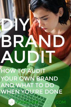 diy brand audit | vi