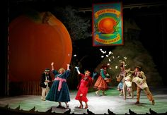 Show and Tell: 'James and the Giant Peach' at Seattle Children's Theatre