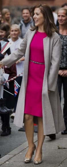 Europe's Royals — Coats That Give Me Life Crown Princess Mary