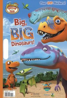 Okay, Dinosaur Train fans! Take a minute to check out the Dinosaur Train sweepstakes! Enter to win a trip for four to Chicago and Washington D. where you will get to vis . Dinosaur Train, I Love My Son, Win A Trip, Coloring Books, Dinosaur Stuffed Animal, Great Gifts, Kitty, Scrapbook, Stickers