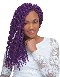 Janet Collection Crochet Braid Ricci Two - Mambo Coily Thick Locs Natural Hair Twist Out, Natural Hair Styles, Hair Styles 2016, Short Hair Styles, Sporty Ponytail, Curly Hair Types, Black Girls Hairstyles, Braided Hairstyles, Ladies Hairstyles