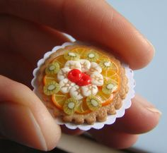 Miniature food - Tarte aux fruits | Flickr - Photo Sharing!