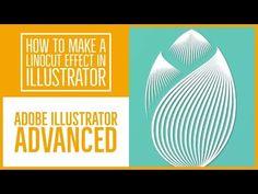 Linocut effect in illustrator