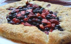 Summer+Pies+and+Tarts Berry Picking, Taste And See, Strawberry Blueberry, Pastry Brushes, Take The Cake, Deserts, Frozen Yogurt, Buttermilk Chess Pie, Desserts