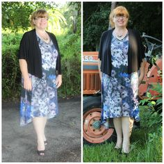 FLORAL HI-LO TANK DRESS #ShareMeGB #GwynnieBee