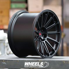 New this year from @Vossen called GNS Series Forged wheels. These are GNS-3's and are forged monoblock wheels finished in Satin Black. What kind of car would you like to see these on? For pricing reach us at 1.888.239.4335 or @WheelsPerformance