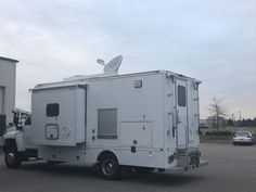 DataSat845 install on INL mobile command vehicle