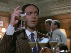"""Nickolas Grace as Anthony Blanche in Brideshead Revisited.""""Down the little red lane they go."""""""