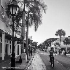 Morning Ride. Key West Florida.