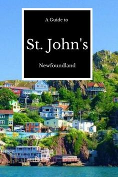 An incomplete and totally biased guide to St. John's, Newfoundland and Labrador - Free Candie Saint John New Brunswick, Newfoundland And Labrador, Newfoundland Canada, Canadian Travel, Canadian Rockies, East Coast Road Trip, Visit Canada, Canada Eh, Atlantic Canada