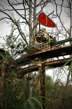 Abandoned Nara Dreamland amusement park in the Japan