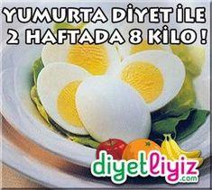 Yumurta diyeti sayesinde 2 haftada 8 kilo vererek sağlıklı ve hızlı zayıflayacaksınız !