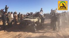 PMU Iranian version of 106mm M40 A2 recoilless rifle mounted on Safir jeep and modified BTR-152 in Hatra south west Mosul