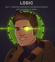 Project Freelancer: Agent York, AI: Delta, Attribute: logic