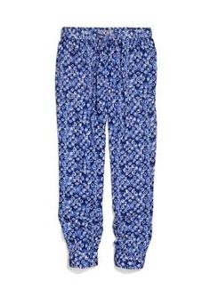 Lucky Brand  Printed Jogger Pants Girls 7-16