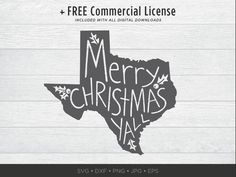 Silhouette of the state of Texas with Merry Christmas Yall written inside it. W H A T Y O U ' L L G E T __________________________________________ NOTE: This is a digital file. No physical product will be sent. Merry Christmas, Christmas Shirts, Christmas Clipart, Christmas Light Clips, Christmas Lights, Texas, Stamp Making, Silhouette Machine, Poster Prints