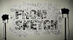Nützung der Wände für Skizzen oder Sammlungen Font Shop, Motion Design, Creative, Photo Wall, Frame, Home Decor, Sketch, Illustrations, Type