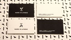 BASED IN ATHENS by Sophia Georgopoulou, via Behance