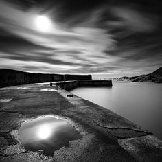 Collieston Breakwater by David Bowman