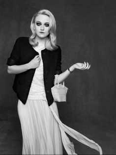 "Dakota Fanning for Chanel's ""The Little Black Jacket"" by Karl Lagerfeld & Carine Roitfeld for Chanel"