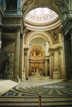 Interior of the Panthéon, Paris