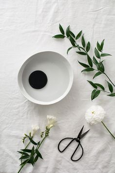 How to Make a Basic Ikebana Floral Arrangement - Homey Oh My