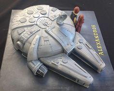 Millennium Falcon - Cake by Ritsa Demetriadou