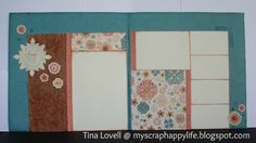 My Scrap Happy Life: Layout from CTMH's  Clementine Paper Pack