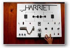 Hardware-ish activity board