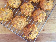 Corn Flake Cookies with Choc Chips and Chia Seeds