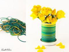 DIY Vase Gummiringe