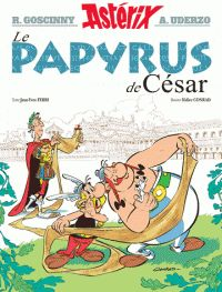 René Goscinny et Albert Uderzo - Astérix - Le Papyrus de César - nº36. - Feuilleter l'extrait