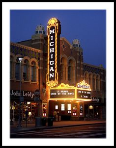 Michigan Theater- Ann Arbor