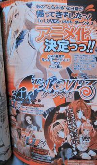 'To Love-Ru Darkness' al anime