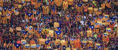 L'ANC, Òmnium i la Plataforma ProSeleccions rebutgen la multa de 30.000 euros de la UEFA al Barça