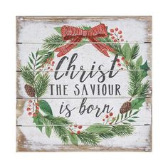 Christmas Bible Verses, Christmas Words, Christmas Signs Wood, Christmas Art, Christmas Canvas, Christmas Brunch, Christmas Kitchen, Christmas Quotes, Christmas Ideas