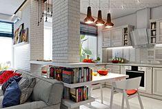Картинки по запросу кухни-гостиные в скандинавском стиле